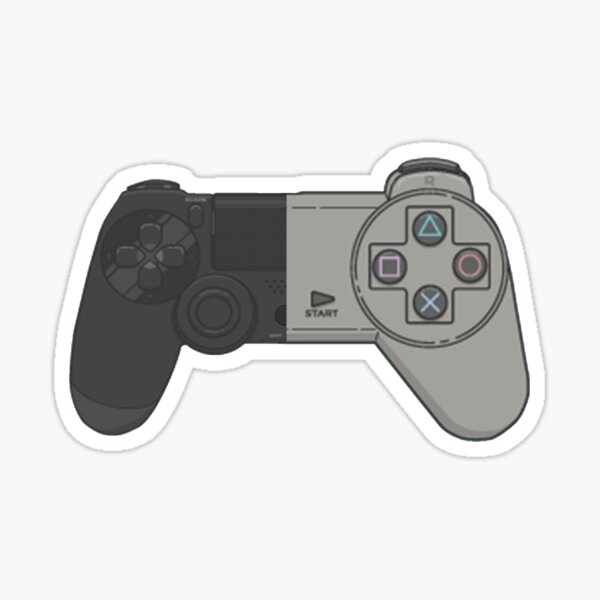 Playstation Controller Evolution Sticker