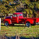 Stolen Red Pickup #1 by Bryan D. Spellman