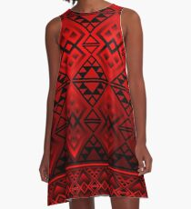 The Lodge (Red) A-Line Dress