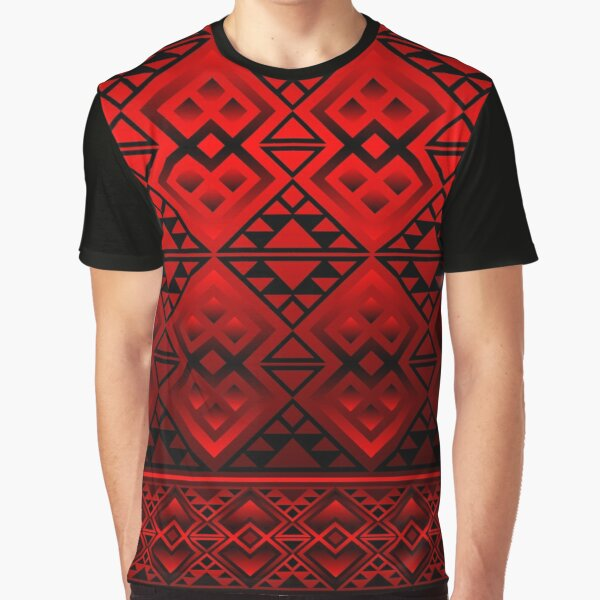 The Lodge (Red) Graphic T-Shirt