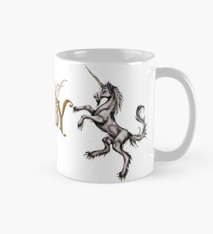 The Journal of Angela Ashby Unicorn Mug white background Mug