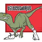 Velocosaurus by JonahVD