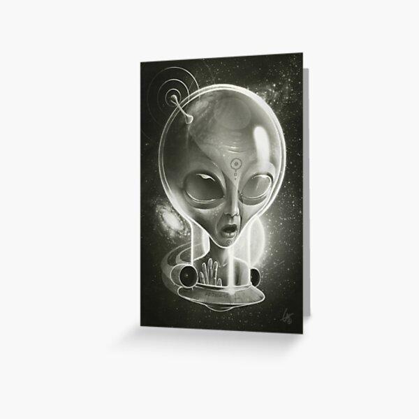 Alien IV (Decompressed) Greeting Card
