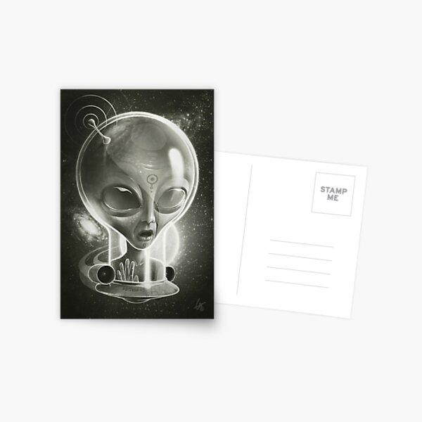 Alien IV (Decompressed) Postcard