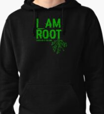 I AM ROOT Pullover Hoodie