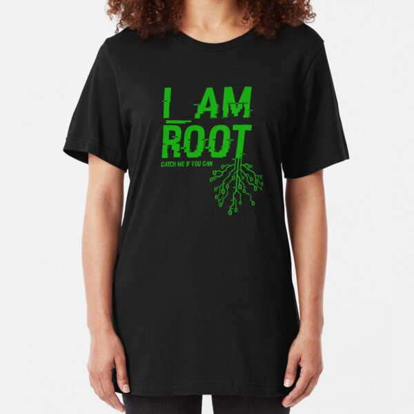 I AM ROOT Slim Fit T-Shirt