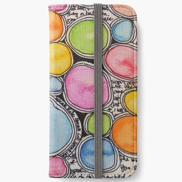 Watercolour Circlelove iPhone Wallet