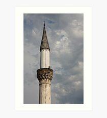 Minaret Art Print