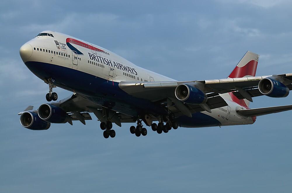 British Airways at LAX by gfydad