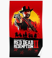 Red Dead Redemption II Cover Poster Poster