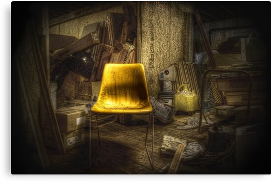 Little Yellow Chair by ParadoxGraphics