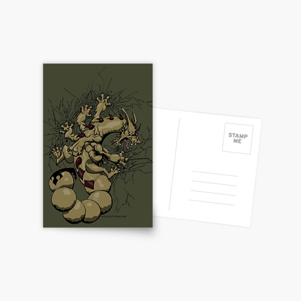 Escorpión Postcard