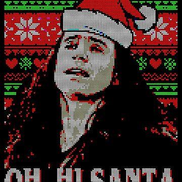 oh hi santa the disaster artist by tayldelaney