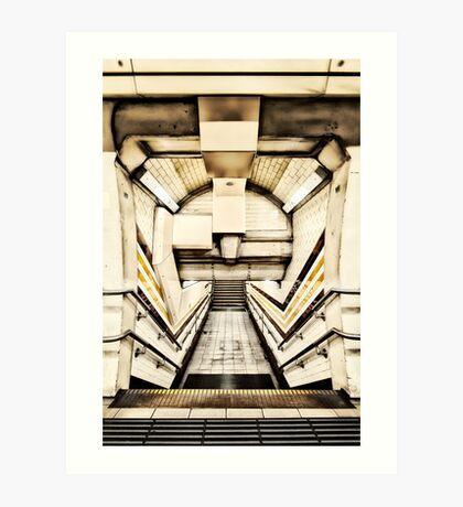 Regent's Park Tube Station Art Print
