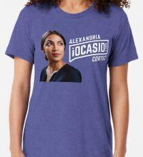 Alexandria Ocasio-Cortez Tri-blend T-Shirt