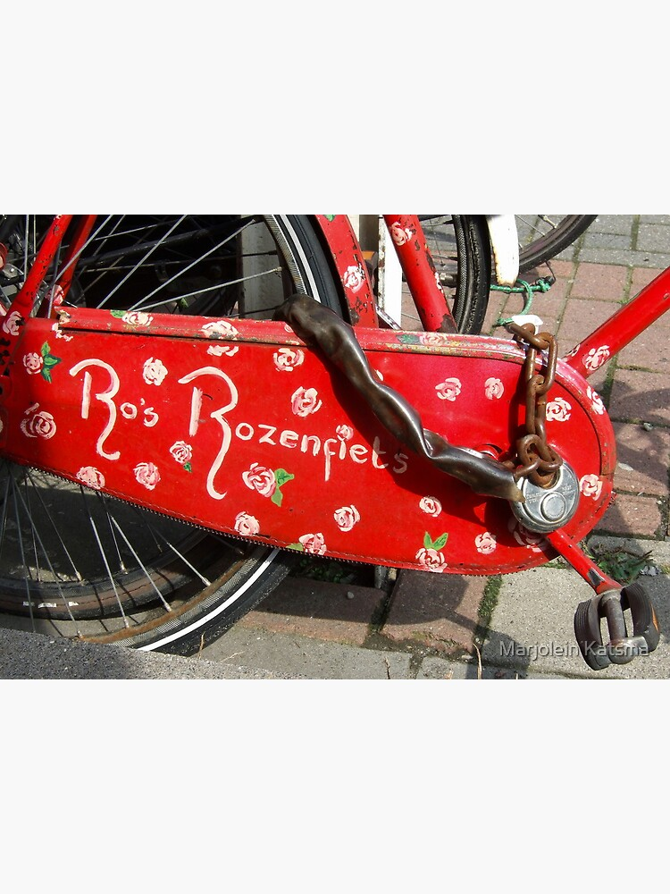 Ro's Rose bike by marjoleink
