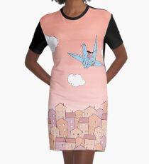 Sunrise Graphic T-Shirt Dress