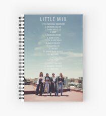 LM5 Tracklist Spiral Notebook