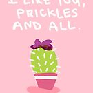 Prickles and All by wtoria