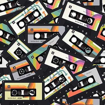 Retro Vintage Cassette Tape | NOVELTY - GEEKY by mcaussieb