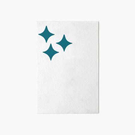Shiny Pokemon Symbol Art Board Print
