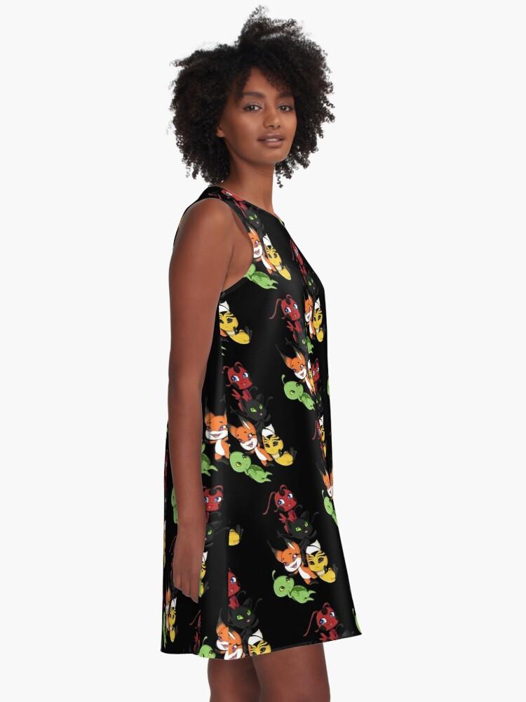 Alternative Ansicht von Kwamis A-Linien Kleid