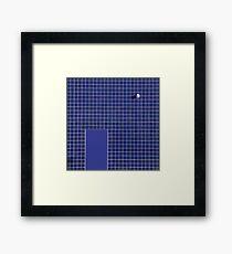 Round Rectangular Square Framed Print
