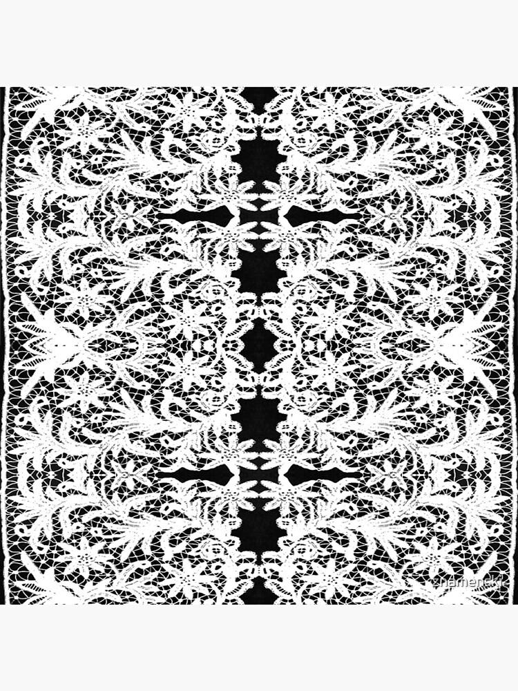 #Motif, #Visual, #arts, #Crochet #Antique #vintage #weaving #lace #patterns #pattern #decoration #ornate #abstract #art #textile #flower #repetition #design #gray #blackandwhite #monochrome by znamenski