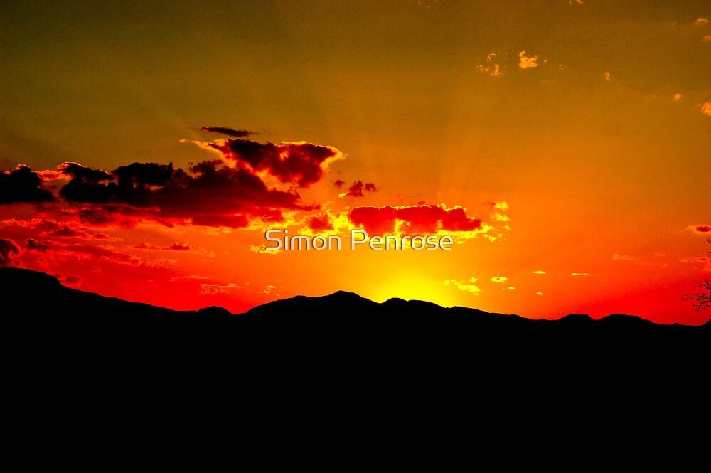 red skies by Simon Penrose
