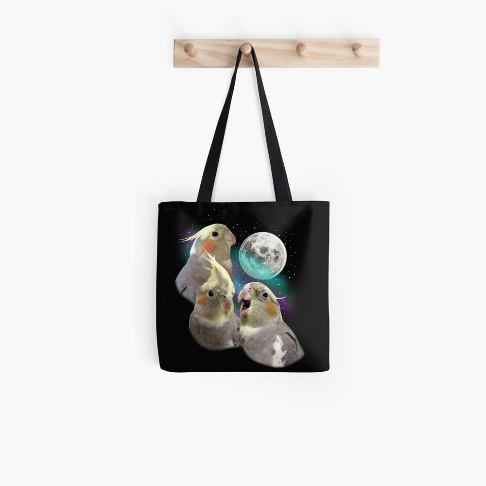 Three Tiel Moon Tote Bag