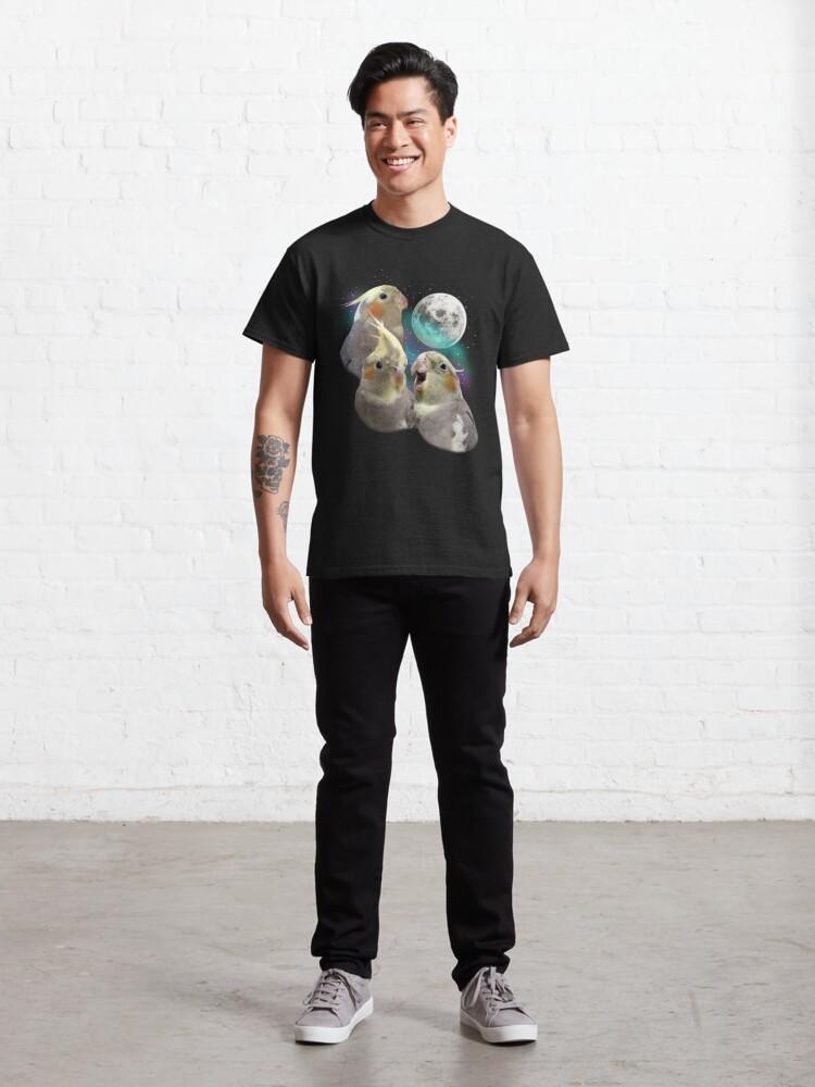 Alternate view of Three Tiel Moon Classic T-Shirt