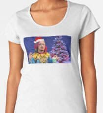 Lil Pump Christmas edition Women's Premium T-Shirt