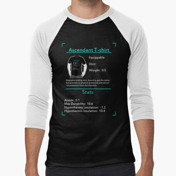 Ark Survival - Ascendant T shirt Baseball ¾ Sleeve T-Shirt