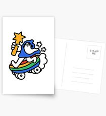 The Raddest Wizard of All Time Postcards