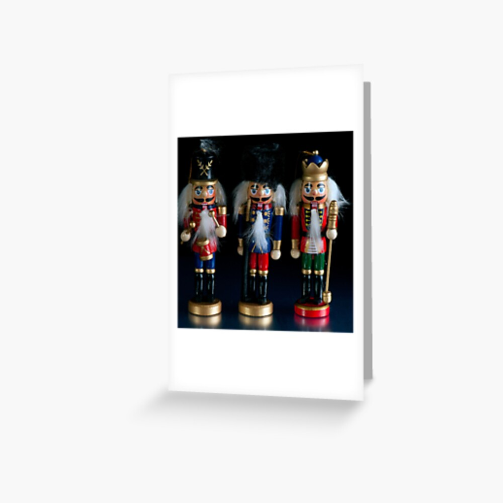 Christmas Nutcrackers Greeting Card