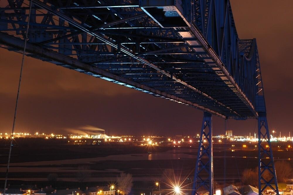 Middlesbrough Transporter Bridge by CraigSkinner