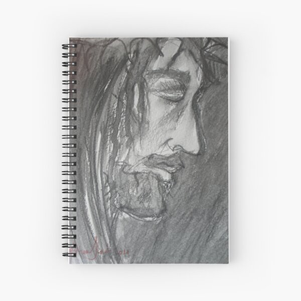 One Solitary Life Spiral Notebook