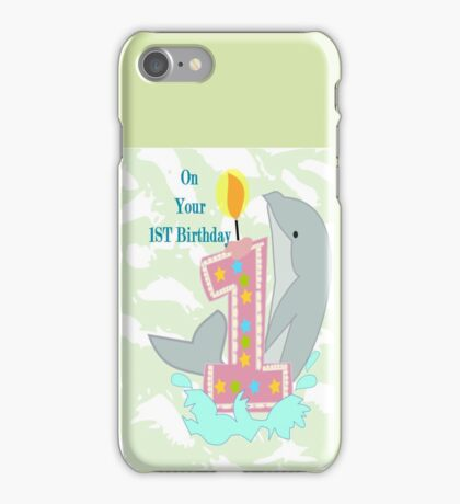 on your First Birthday (8706 Views) iPhone Case/Skin