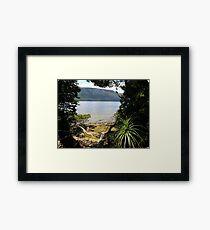 Lake St Clair, Tasmania Framed Print