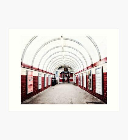 South Kenton Tube Station Art Print