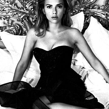 Scarlett Johansson  by imnotanumber