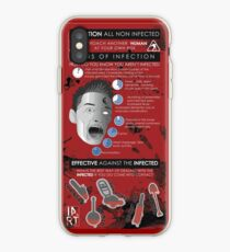 Zombie Infographic  iPhone Case