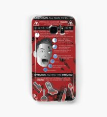Zombie Infographic  Samsung Galaxy Case/Skin