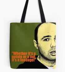 Karl Pilkington Tote Bag