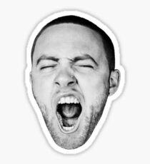 Yawning Sticker
