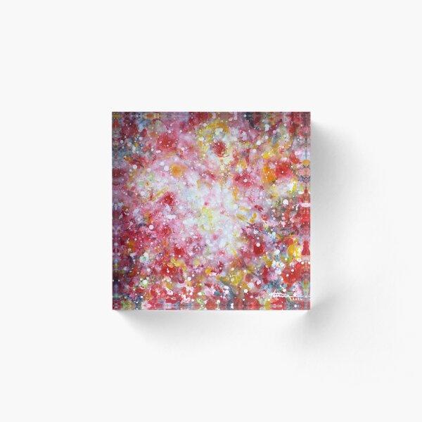 Summer Solstice Acrylic Block