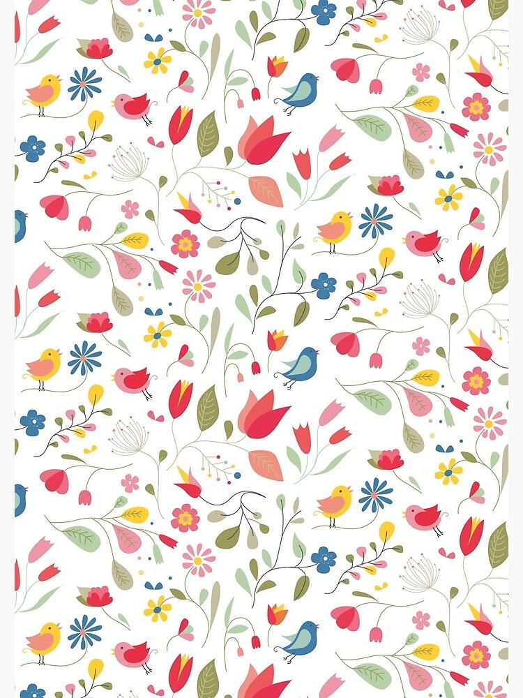 «Motif la plus jolie des fleurs» par OGraphinerie
