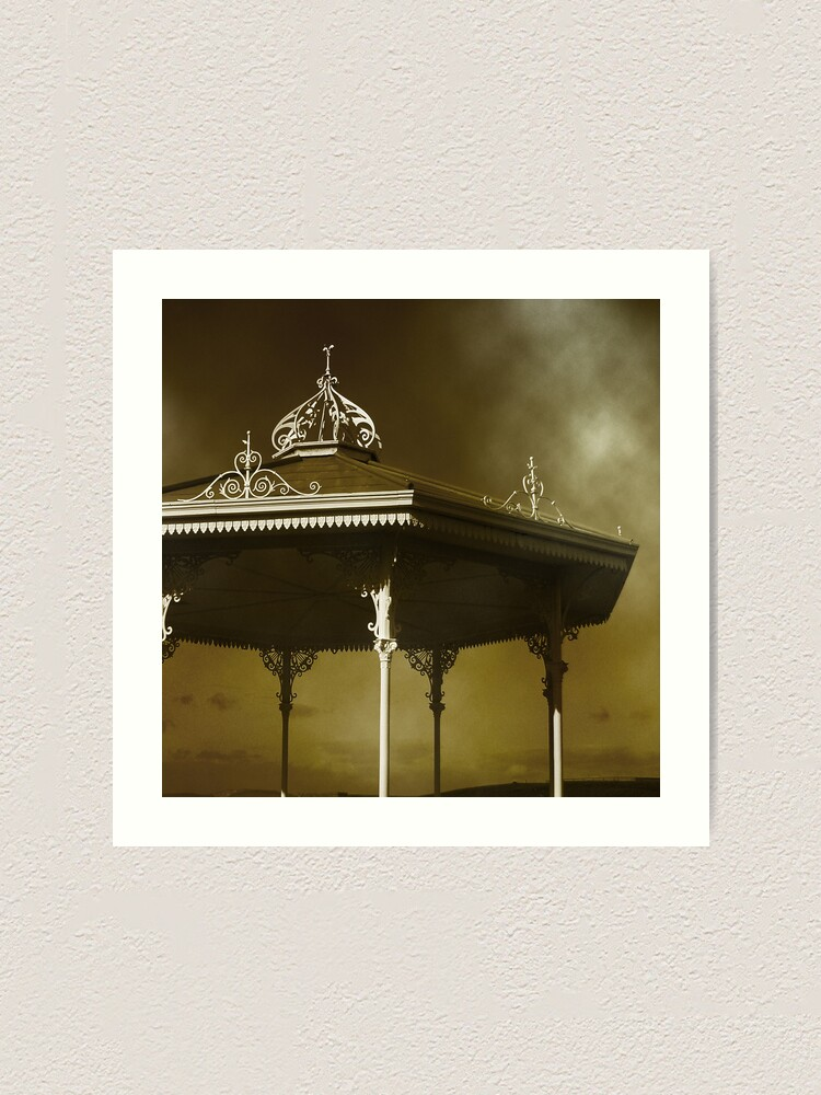 Alternate view of Bandstand St. Andrews Art Print