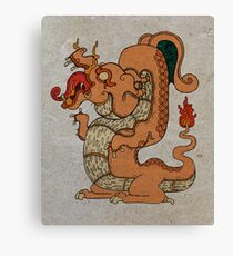 Maya Charizard Canvas Print