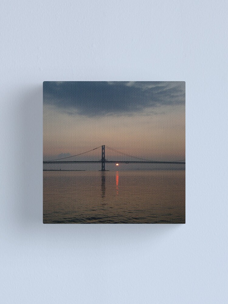Alternate view of Bridge Sunset Canvas Print